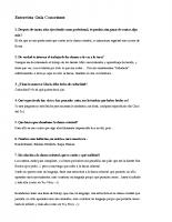 Entrevista Guia Conoriente